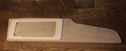 Door Front with Backing Plate